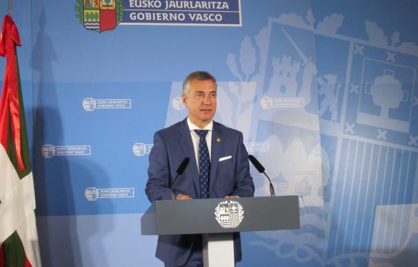 """Urkullu confía en un """"diálogo sincero"""" de todos los partidos para la Ponencia de paz"""