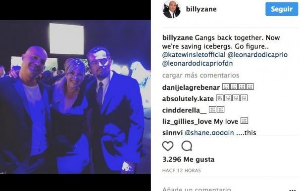 Kate Winslet, Madonna, Sean Penn, Tobey Maguire y Lenny Kravitz apoyan a Leonardo DiCaprio en su gala anual