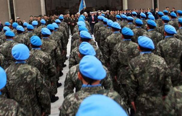 Los cascos azules de la ONU, una de las herramientas más útiles para promover la paz / AFP