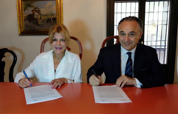 """La Obra Social """"la Caixa"""" y el Museo Carmen Thyssen Málaga renuevan su acuerdo de colaboración para 2018"""