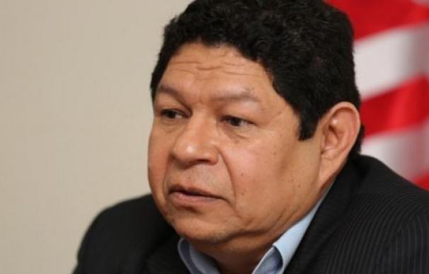 El ministro de Justicia y Seguridad Pública de El Salvador, Benito Lara