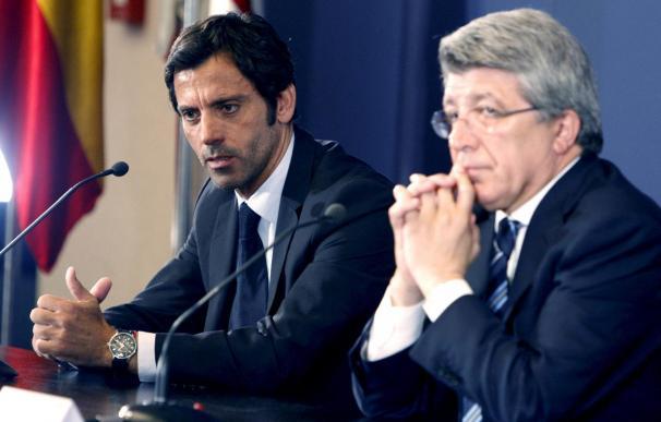 """Quique cree que el Atlético """"tiene que estar entre los cuatro primeros cada año"""""""