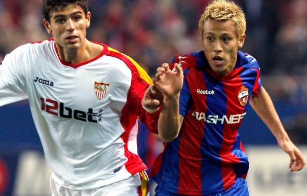 El jugador del Sevilla Fazio viaja a Barcelona para revisar su nueva lesión en el tobillo