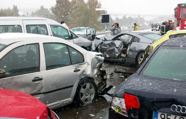 Dos muertos en un accidente de tráfico en La Roda de Andalucía (Sevilla)