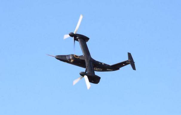 Un convertiplano AW609 de Agusta Westland igual al accidentado este viernes
