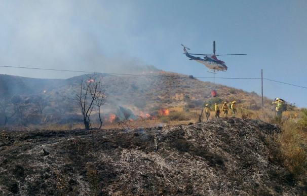 El fuego ha arrasado más de 57.000 hectáreas de superficie forestal, el peor año desde 2012