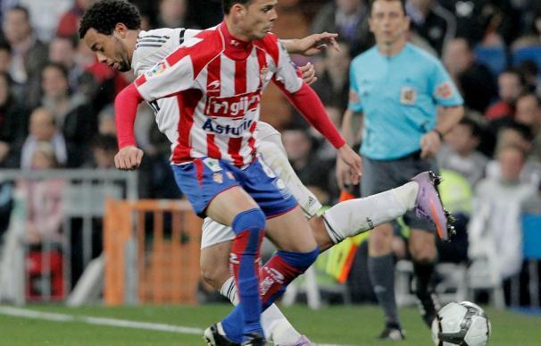 Carmelo, baja probable en el Sporting para jugar ante el Espanyol