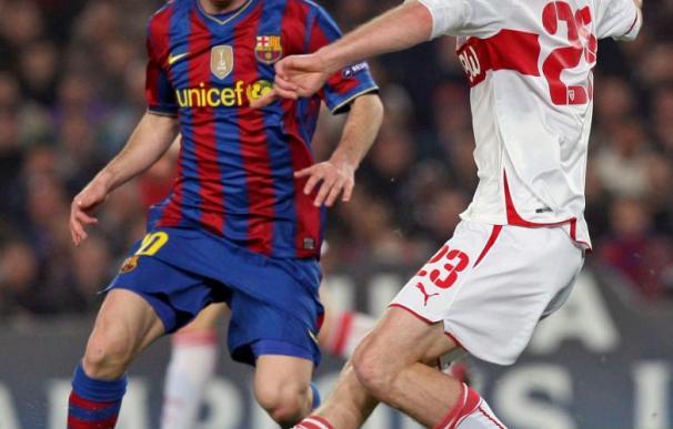 """Hleb, cedido por el Barcelona al Stuttgart, puede recalar en el Manchester City, según """"L'Équipe"""""""