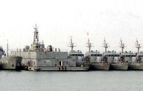 Hundido un buque de guerra surcoreano en las proximidades de Corea del Norte
