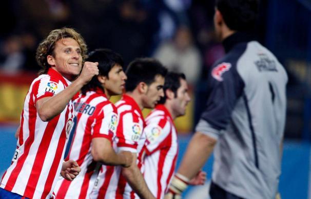 2-0. El Atlético se reengancha a la pelea por Europa
