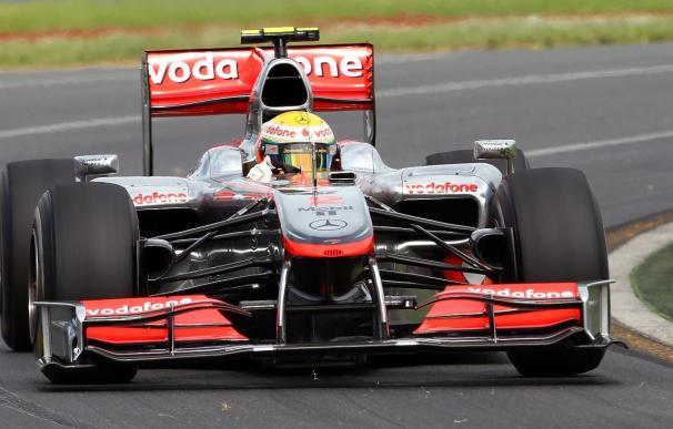 Kubica mejor tiempo en la primera sesión libre, Alonso termina sexto