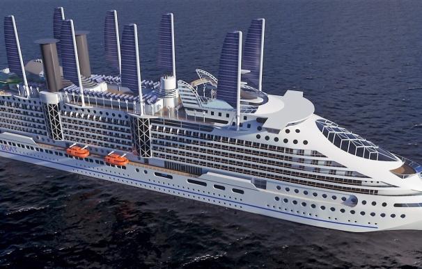 """Una empresa de Getxo diseña y construye el """"Ecoship"""", un crucero de alta gama respetuoso con el medio ambiente"""