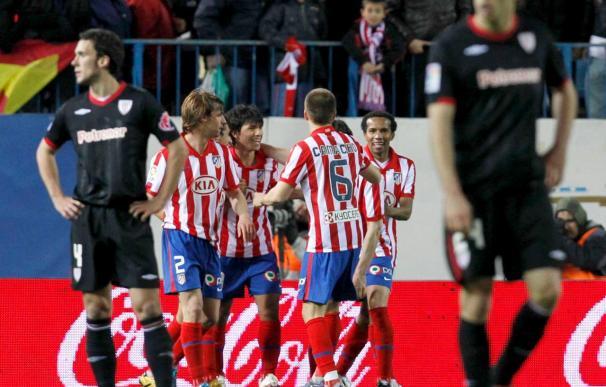 Atlético, a su menor distancia de Europa, cinco puntos, desde la jornada seis