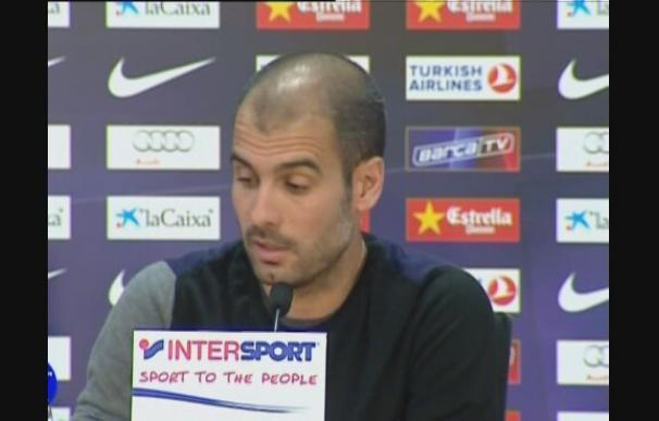 """Guardiola: """"Gano títulos porque estoy en un equipo rico"""""""