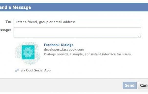 Facebook anuncia la opción 'enviar' para compartir de forma privada