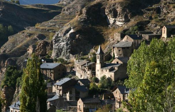 Vista de Farrera, en el corazón del Pirineo.