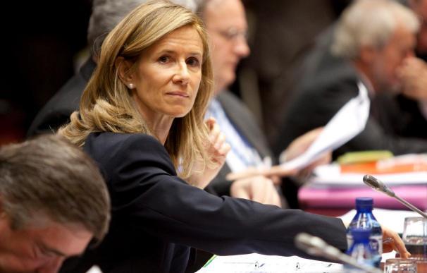 La ministra Garmendia descarta recortes en el presupuesto total de ciencia e innovación en 2010