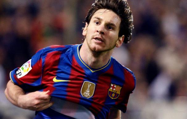 """Messi, jugador de la semana de """"L'Équipe"""", en un once con Silva y Ramis"""