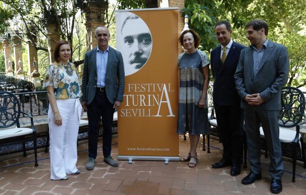 El Festival Turina comenzará el 4 de septiembre con 12 conciertos, 36 obras y 20 artistas internacionales
