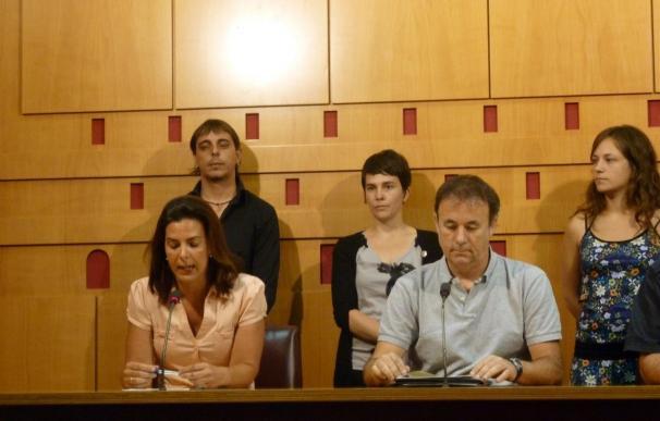 """Bildu Vitoria afirma que la prohibición de escoltas en el Ayuntamiento de Andoain es un hecho """"lógico y normal"""""""