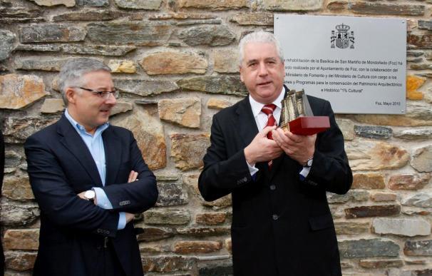 Blanco desea que la catedral de Mondoñedo figure en la Lista de la UNESCO