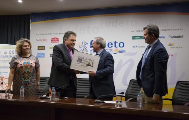 El 40 aniversario de FEDETO, en 5,5 millones de cupones de la ONCE del 31 de julio