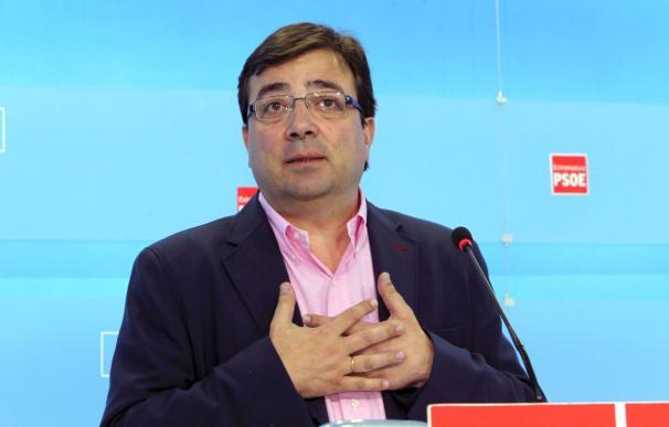 Vara dice que el PSOE no colaborará con IU en una hipotética moción de censura al PP