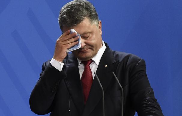 El presidente de Ucrania Petro Poroshenko en una imagen de archivo