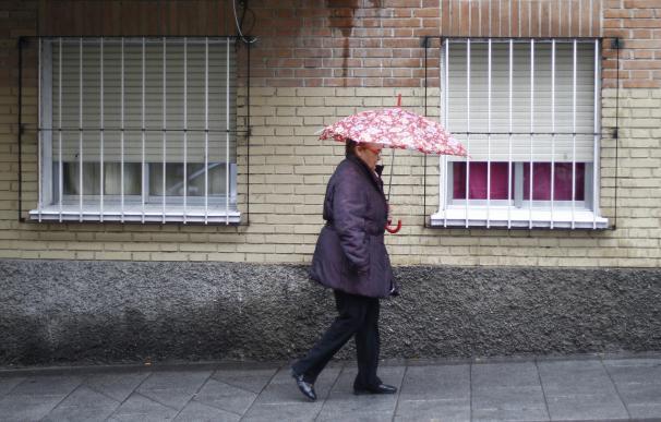 Tres provincias españolas están en alerta amarilla por lluvias