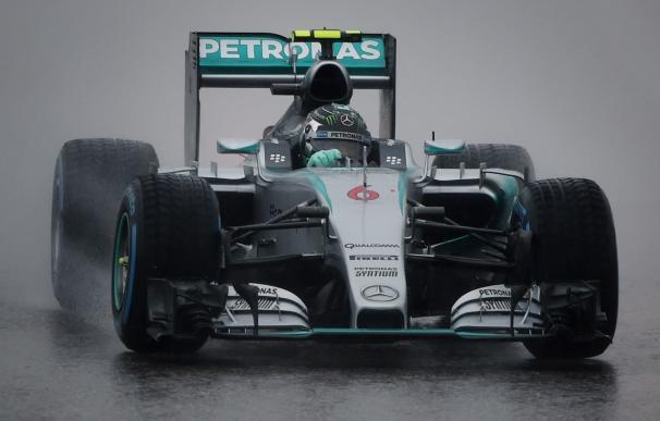 Nico Rosberg, durante la sesión de clasificación en Estados Unidos