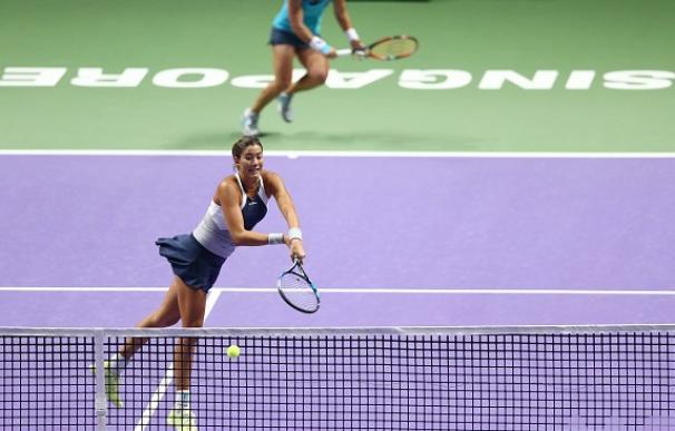 Las españolas cayeron en su debut en Singapur.