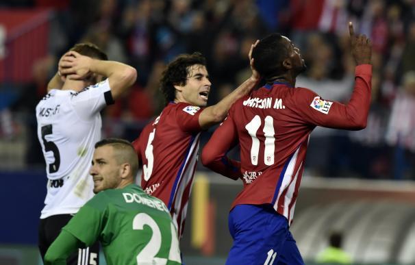 Atletico Madrid's Colombian forward Jackson Martin