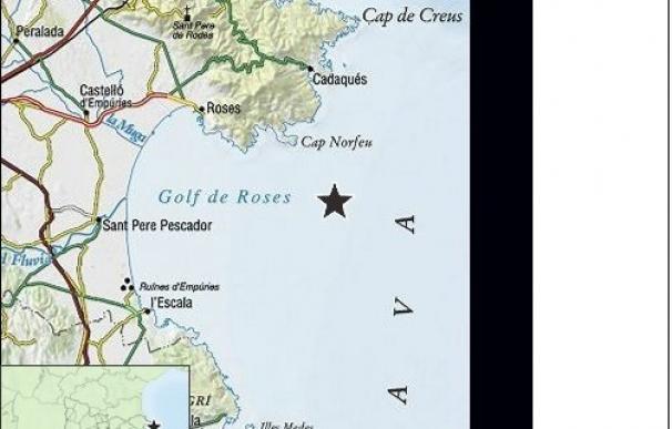 El terremoto del Empordà (Girona) ha sido de 4,3 grados y ha tenido siete réplicas