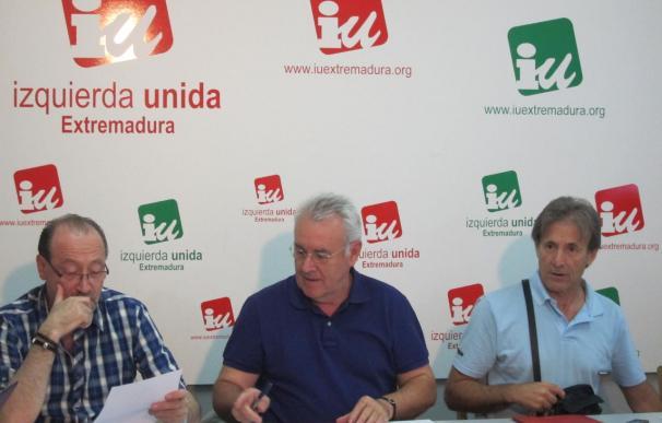 El Consejo Político de IU Extremadura votará mañana la postura a adoptar en la investidura del presidente de la Junta