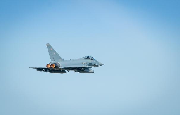 Dos aviones Eurofighter se han estrellado en España