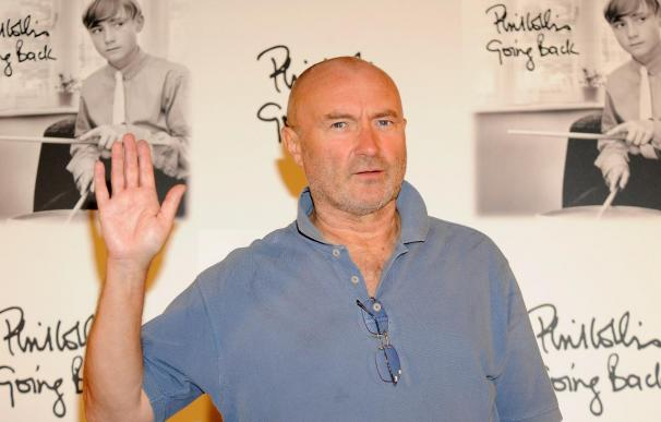 Phil Collins Presents His New Album 'Going Back' in Madrid