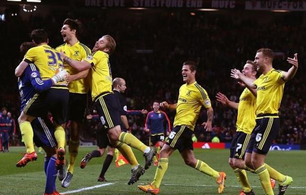 El Middlesbrough de Karanka elimina al United y Klopp consigue su primera victoria / Getty Images