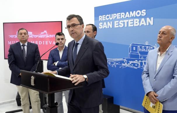 Comienza la fase de consultas tras la aprobación del Avance del Plan Director de la recuperación de San Esteban