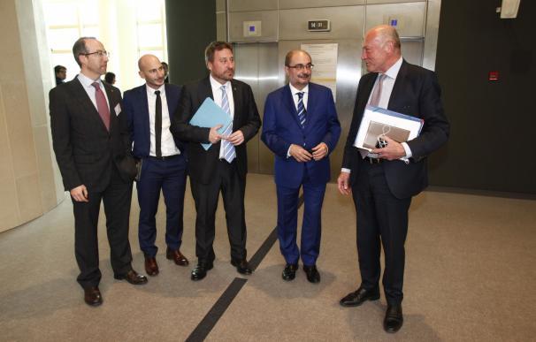 Aragón, Fomento y Aquitania marcan las acciones para la convergencia de la línea Zaragoza-Canfranc-Pau