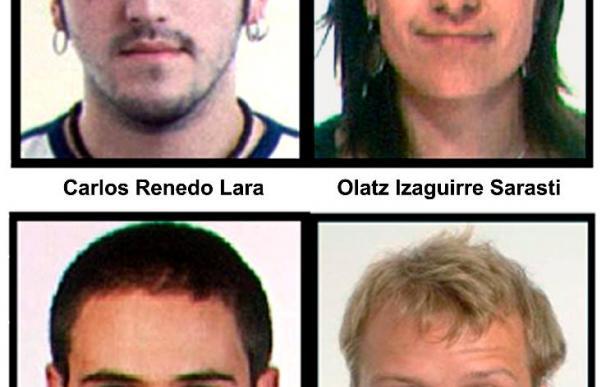 El Tribunal acepta la entrega a España de 3 de los 4 detenidos por su vinculación con ETA