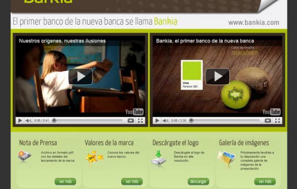 Bankia es la nueva marca de Caja Madrid y Bancaja