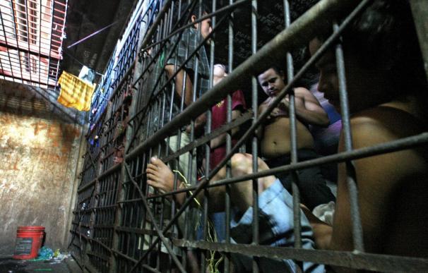 Una de las peores cárceles del mundo, en Lima, Perú.