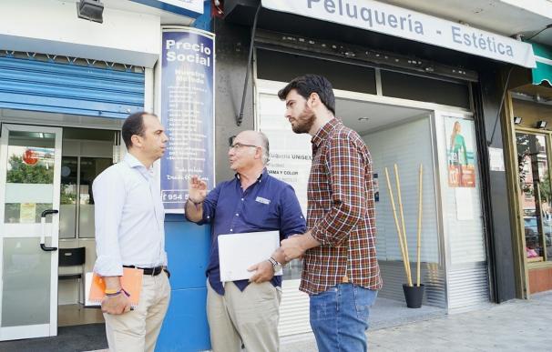 Millán (Cs) pide agilizar licencias y garantizar la seguridad en las calles de San Pablo