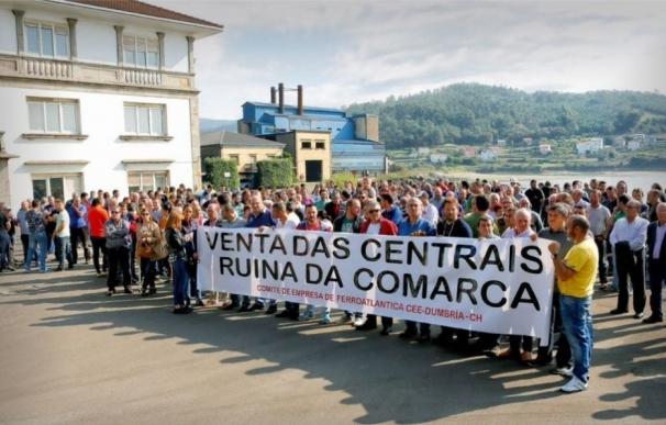 """En Marea celebra """"la victoria de la movilización ciudadana"""" con Ferroatlántica y exige un plan industrial"""