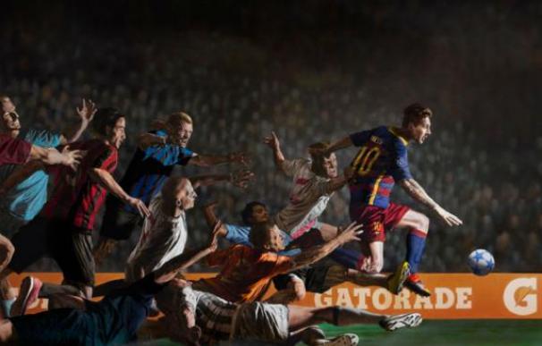 Espectacular anuncio de Leo Messi para Gatorade