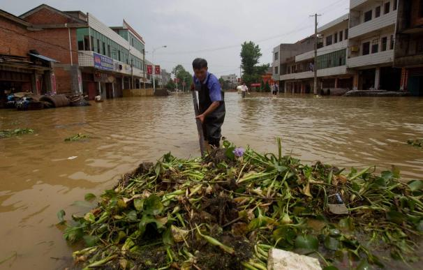 Atrapadas 107 personas en China en una avalancha provocada por las lluvias