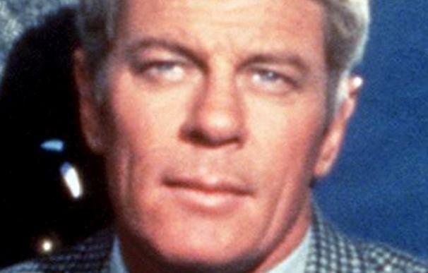 El actor estadounidense Peter Graves en 1966. Fue encontrado sin vida, aparentemente por causas naturales, en su domicilio en California (EEUU) el pasado domingo 14 de marzo.