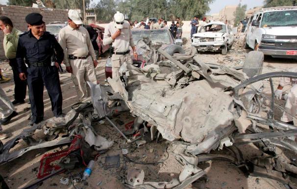 Siete muertos y 13 heridos por la explosión de un coche bomba en Faluya