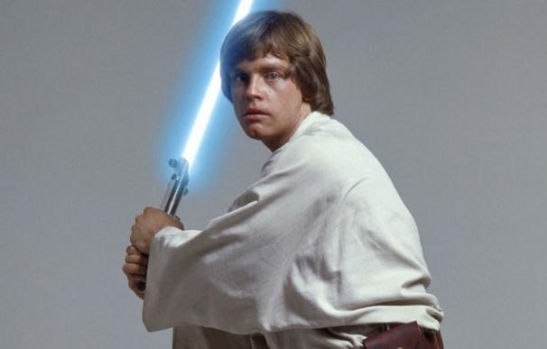El actor Mark Hamill, como Luke Skywalker en `Star Wars´
