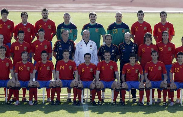 La FIFA hace un control antidopaje por sorpresa a la selección española